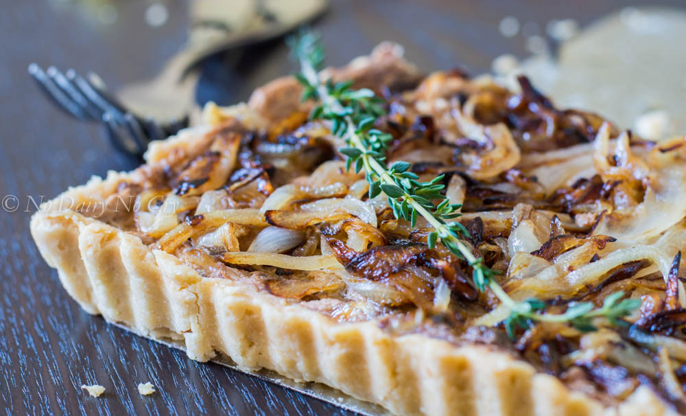 Vidalia Onion Tart with Plentils Chips