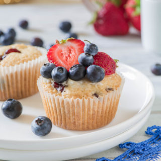 Macaroon Berry Muffins9a
