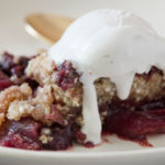 Skillet Apple and Cherry Maple Crumble16
