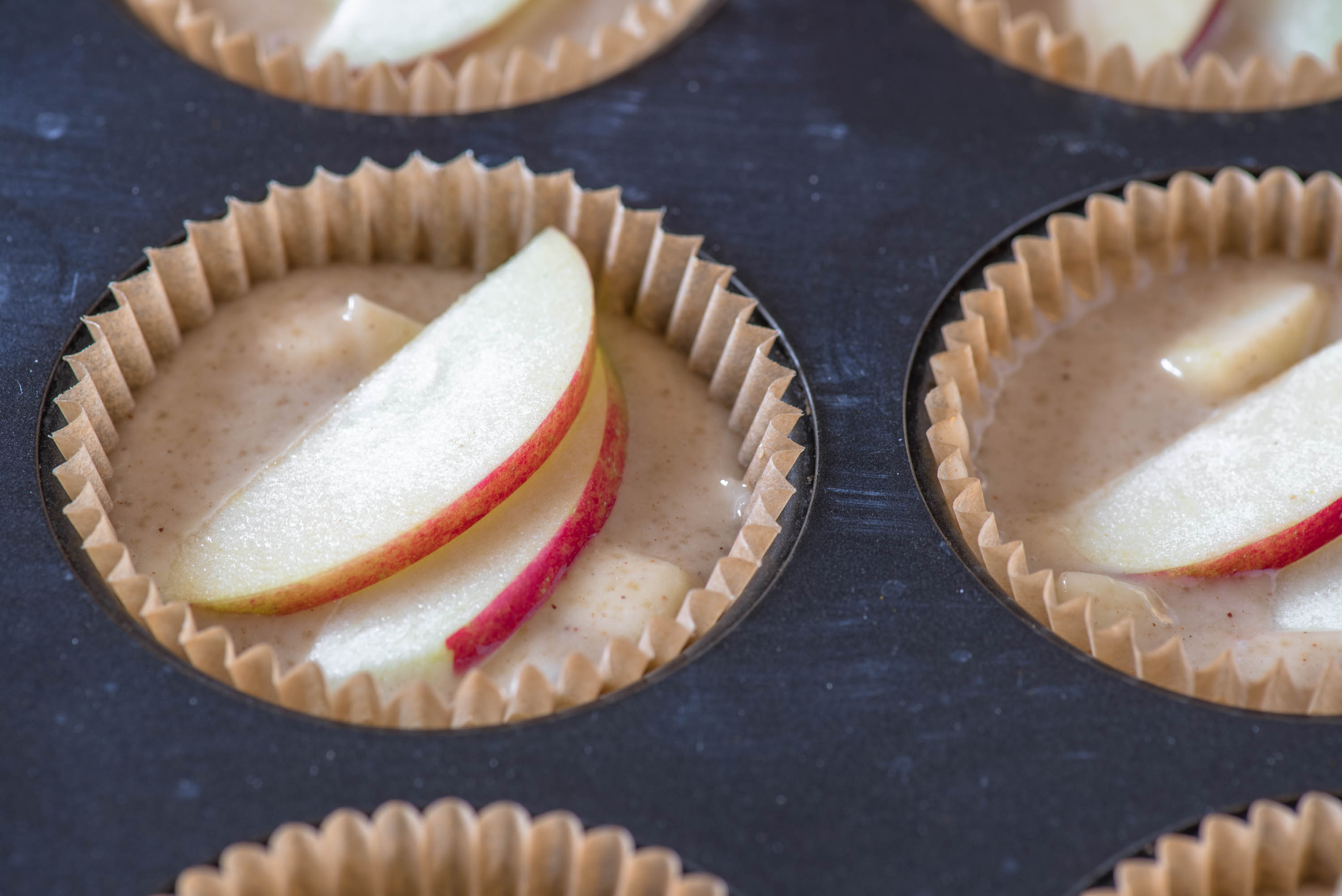 Apple Caramel {Cup}Cakes
