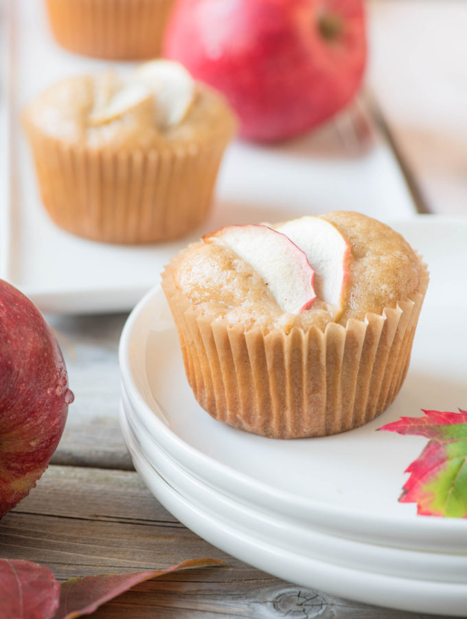 Apple Caramel {Cup}Cake