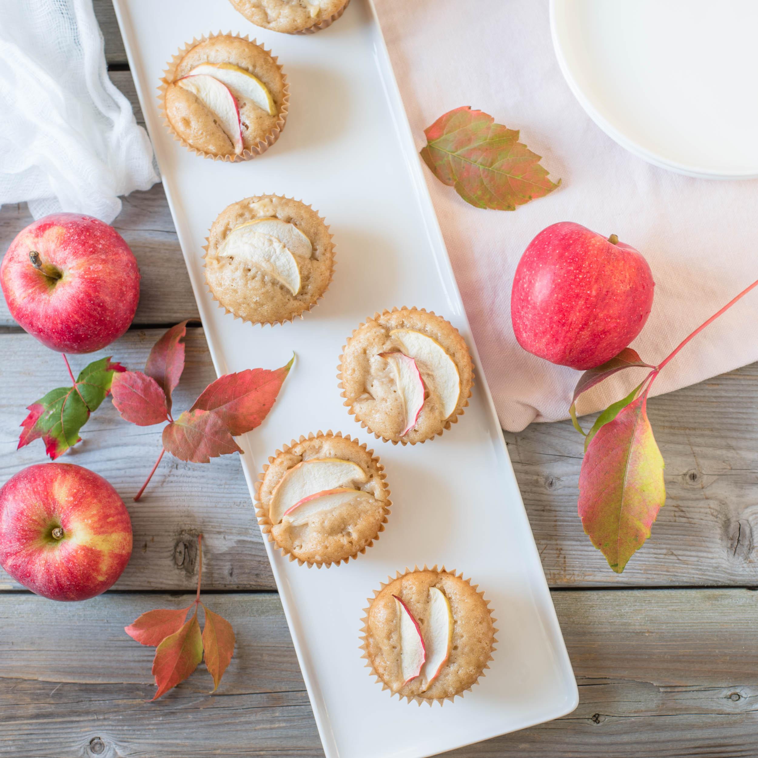 Apple Caramel {Cup}Cakes2